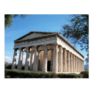 Thission - The Temple of Hephaestus Postcard