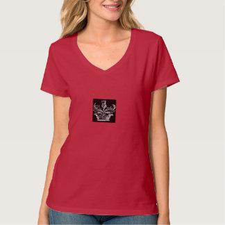 Thistle Crest v-neck tshirt