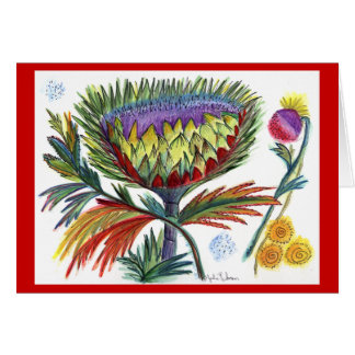 Thistle Holiday Greeting Card