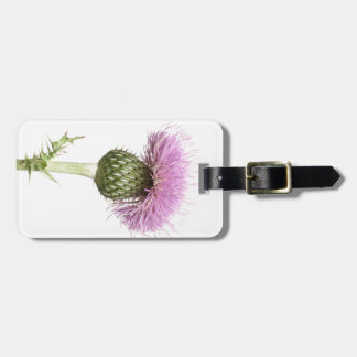 Thistle Luggage Tag