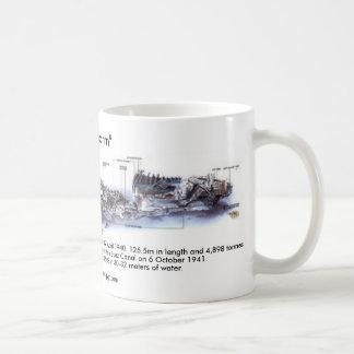 "thistlgormdwg, ""Thistlegorm"", Built at Joseph T... Basic White Mug"