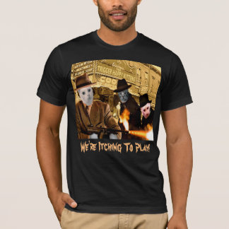 THK Biograph - WITP txt - (L) Men's; Black T-Shirt
