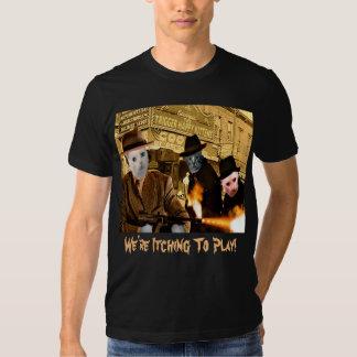 THK Biograph - WITP txt - (L) Men's; Black Tee Shirt