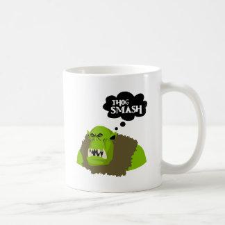 Thog Smash Coffee Mug