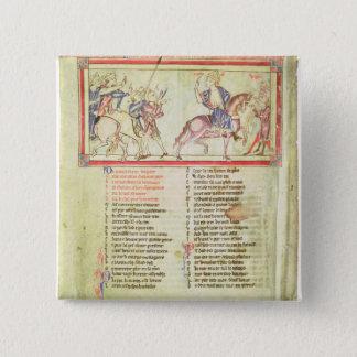 Thomas a Becket 15 Cm Square Badge