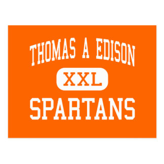 Thomas A Edison - Spartans - High - Elmira Heights Postcards