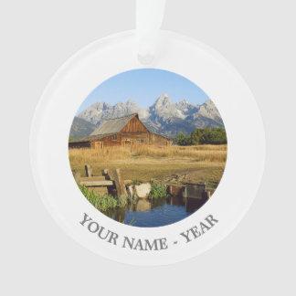 Thomas A. Moulton Barn Ornament