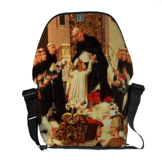 Thomas Aquinas being received into the Dominican O Courier Bags