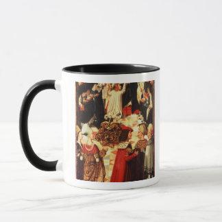 Thomas Aquinas being received into the Dominican O Mug