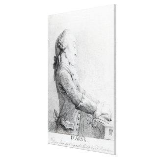 Thomas Augustine Arne Canvas Print