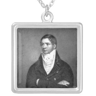 Thomas Belcher, engraved by Charles Turner, 1814 Silver Plated Necklace
