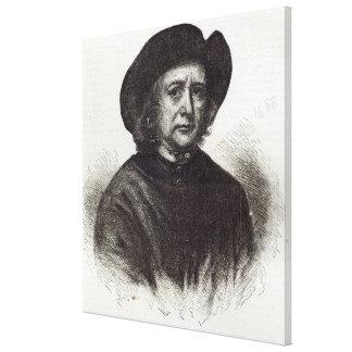 Thomas Britton, the Musical Small-coal Man Canvas Print