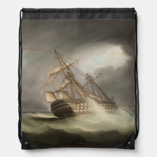 Thomas Buttersworth - H.M.S. 'Victory' Drawstring Bag
