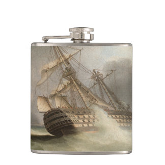 Thomas Buttersworth - H.M.S. 'Victory' Hip Flask