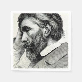 Thomas Carlyle Vintage Portrait Paper Serviettes