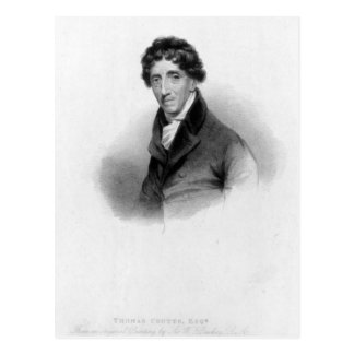 Thomas Coutts, Esq. drawn by A. Chisholm Postcard
