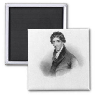 Thomas Coutts, Esq. drawn by A. Chisholm Square Magnet