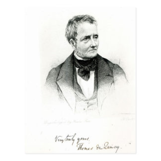Thomas de Quincey Postcard