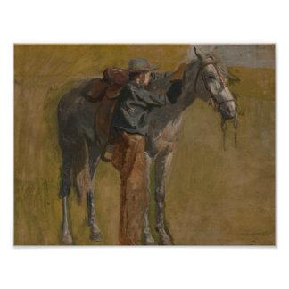 Thomas Eakins - Cowboy: Study for Cowboys Photograph