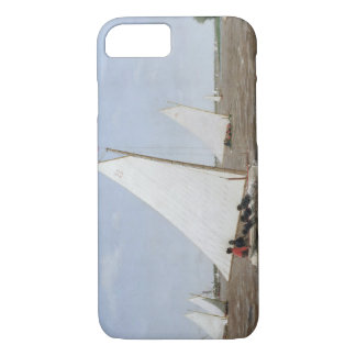 Thomas Eakins - Sailboats Racing on the Delaware iPhone 7 Case