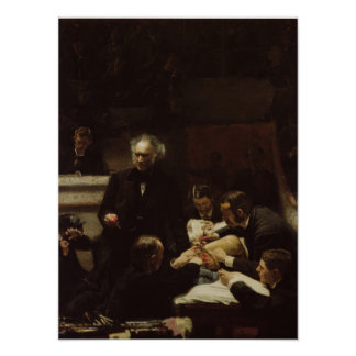 Thomas Eakins The Gross Clinic Poster