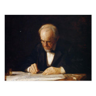 Thomas Eakins-The Writing Master (Benjamin Eakins) Postcard