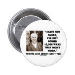 Thomas Edison Not Failed 10,000 Ways Won't Work