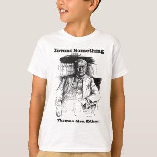 Thomas Edison Sketch - Invent Something Shirt