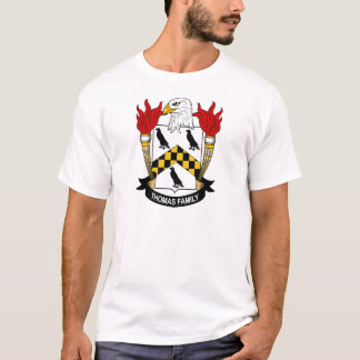 Thomas Family Coat of Arms T-Shirt