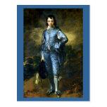 Thomas Gainsborough art: The Blue Boy Postcard
