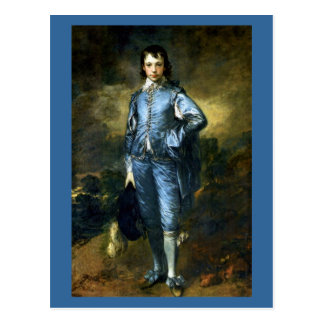 Thomas Gainsborough art: The Blue Boy Postcard