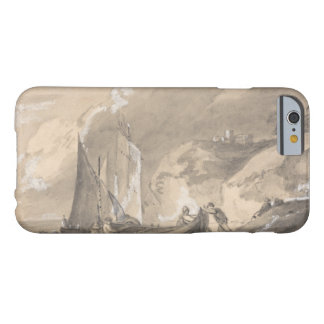 Thomas Gainsborough - Coastal Scene with Figures Barely There iPhone 6 Case