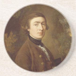 Thomas Gainsborough Self-portrait 1759 Beverage Coaster