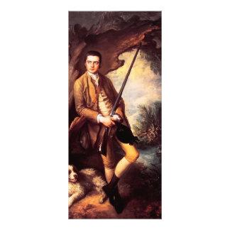 Thomas Gainsborough- William Poyntz of Midgham Rack Card Template