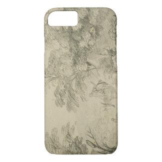 Thomas Gainsborough - Wooded Landscape with Donkey iPhone 7 Case