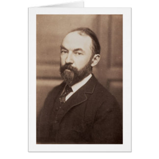 Thomas Hardy (1840-1928) (sepia photo) Card