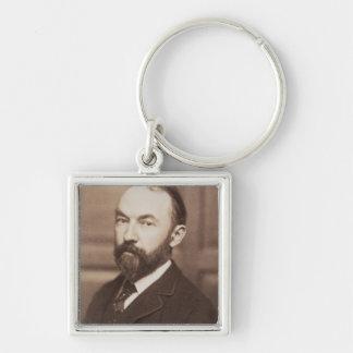 Thomas Hardy (1840-1928) (sepia photo) Key Ring
