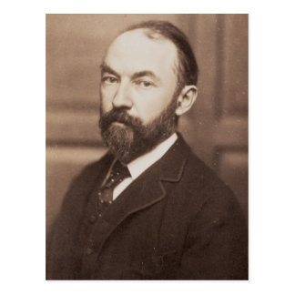 Thomas Hardy (1840-1928) (sepia photo) Postcard