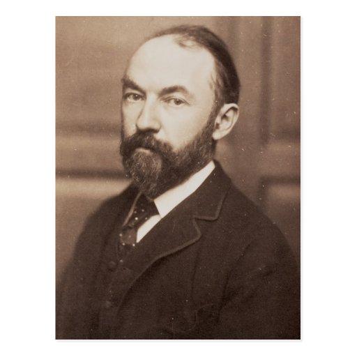 Thomas Hardy (1840-1928) (sepia photo) Post Card