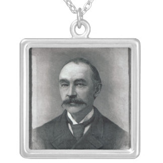 Thomas Hardy, 1892 Silver Plated Necklace