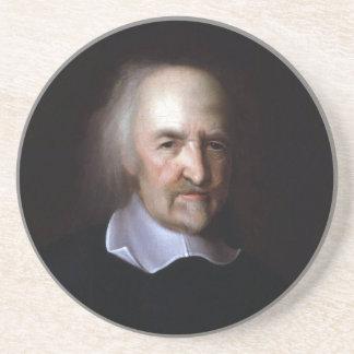 Thomas Hobbes by John Michael Wright Beverage Coasters