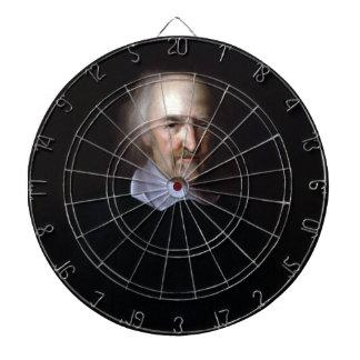 Thomas Hobbes by John Michael Wright Dartboard