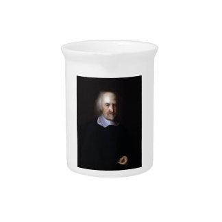 Thomas Hobbes by John Michael Wright Pitcher