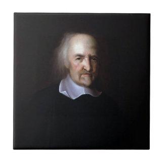 Thomas Hobbes by John Michael Wright Tiles