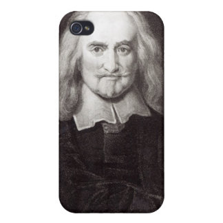 Thomas Hobbes from 'Gallery of Portraits' iPhone 4 Covers