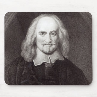 Thomas Hobbes  from 'Gallery of Portraits' Mouse Pad