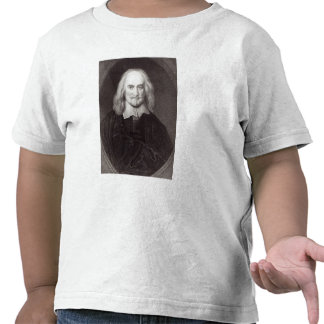 Thomas Hobbes from Gallery of Portraits Tshirt