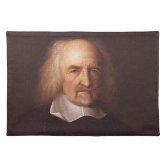 Thomas Hobbes of Malmesbury by John Michael Wright Placemats