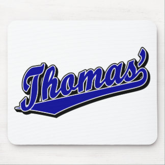Thomas' in Blue Mouse Mats