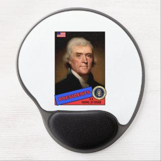 Thomas Jefferson Baseball Card Gel Mouse Pad